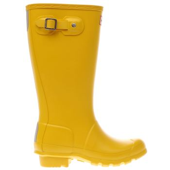 Hunter Yellow Original Unisex Junior