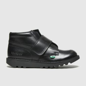 Kickers Black Kick Kilo Unisex Junior