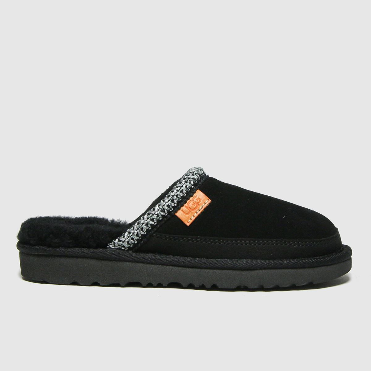 UGG Black Tasman Ii Slip-on Slippers Junior | UK 13