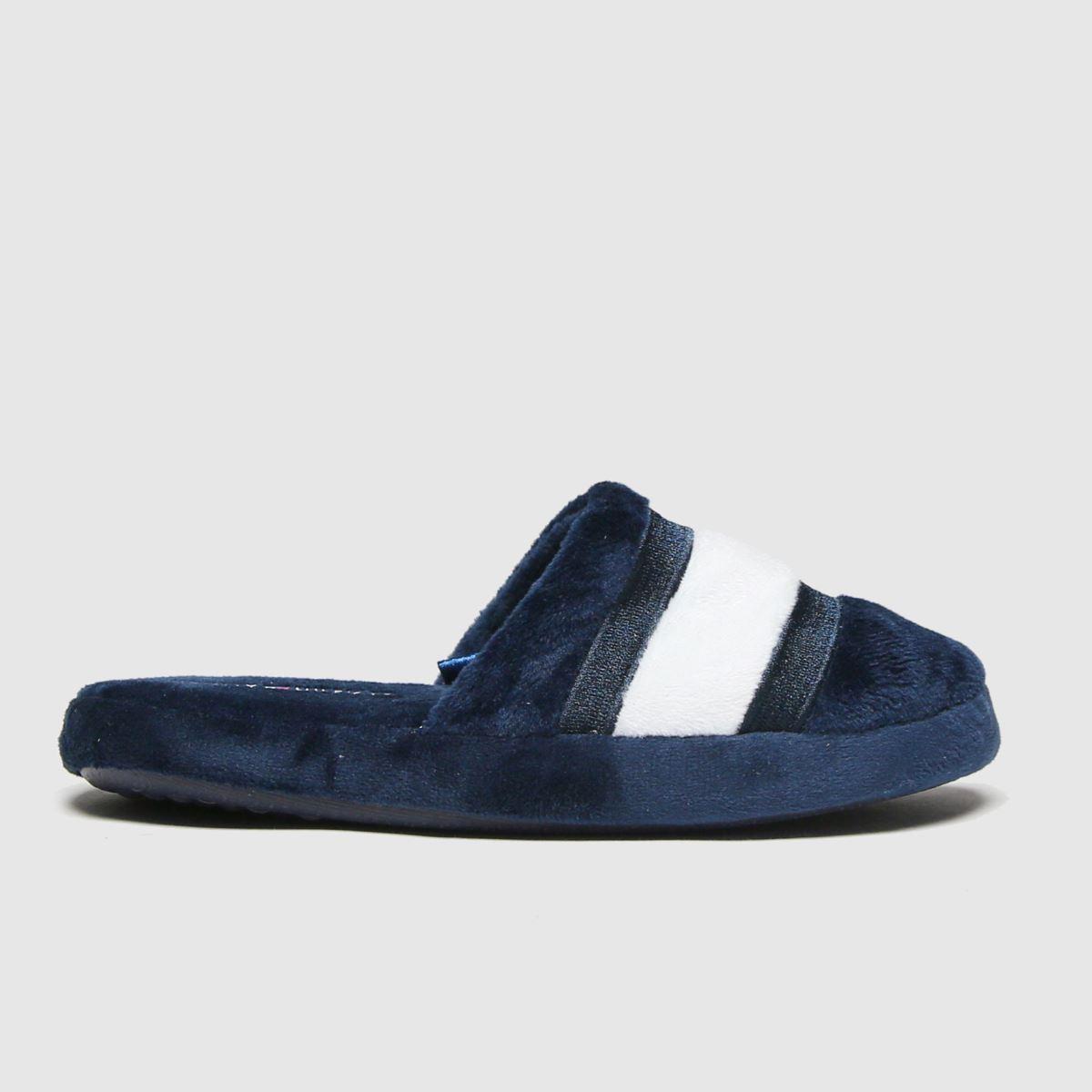 Tommy Hilfiger Navy Slipper Boots Junior