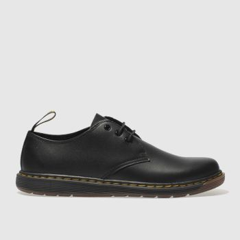 Dr Martens Black Cavendish Unisex Youth