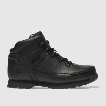Timberland Black Euro Sprint c2namevalue::Unisex Youth