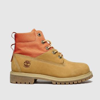 Timberland Natural Rebotl 6in Premium Unisex Youth