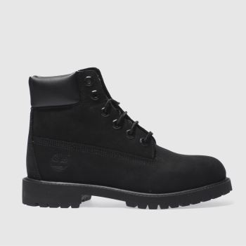 Timberland Black 6 Inch Premium c2namevalue::Unisex Youth