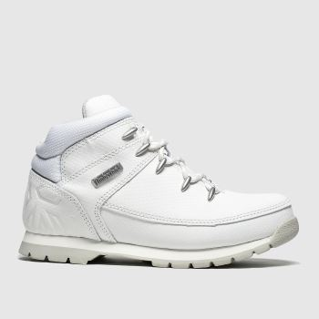 Timberland White Euro Sprint Unisex Youth