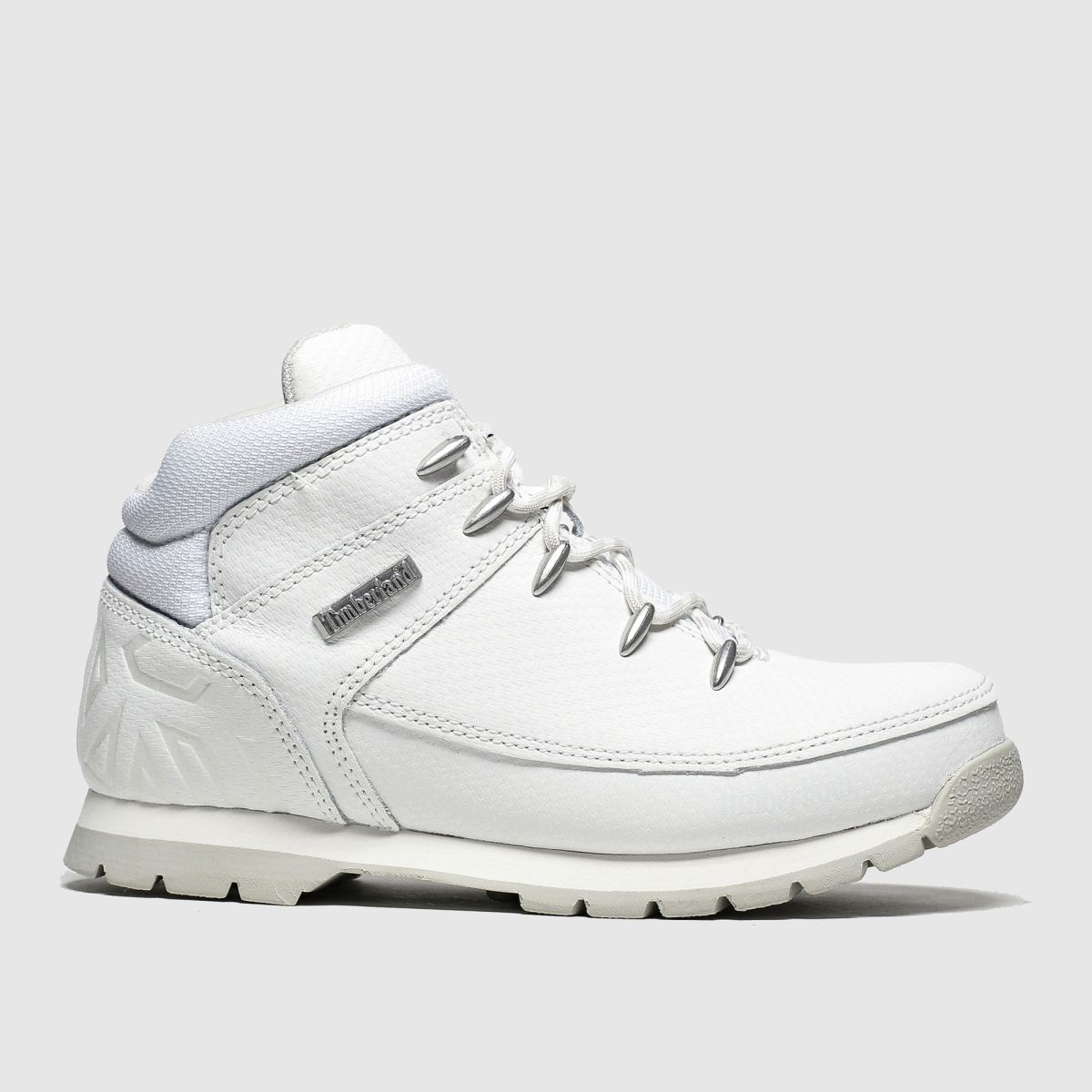Timberland White Euro Sprint Boots Youth