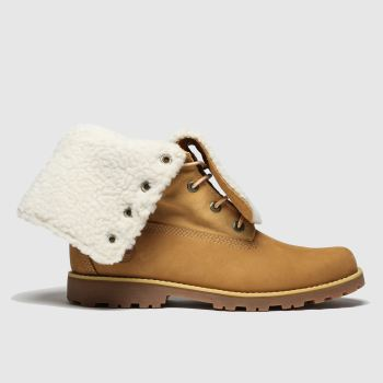 Timberland Tan Authentic 6 Inch Unisex Youth