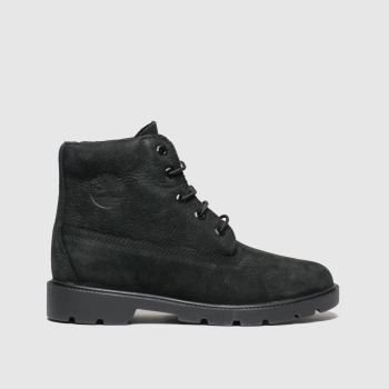 Timberland Black 1973 Newman Unisex Youth