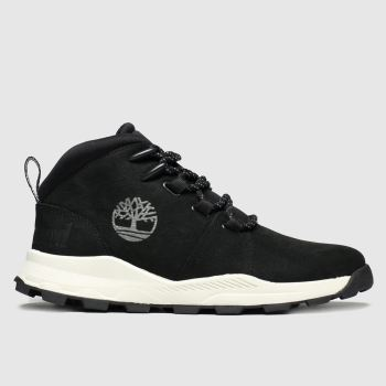 Timberland Black Brooklyn City Mid Unisex Youth
