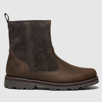 Timberland Dark Brown Courma c2namevalue::Unisex Youth