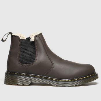 Dr Martens Dark Brown 2976 Leonore Unisex Youth