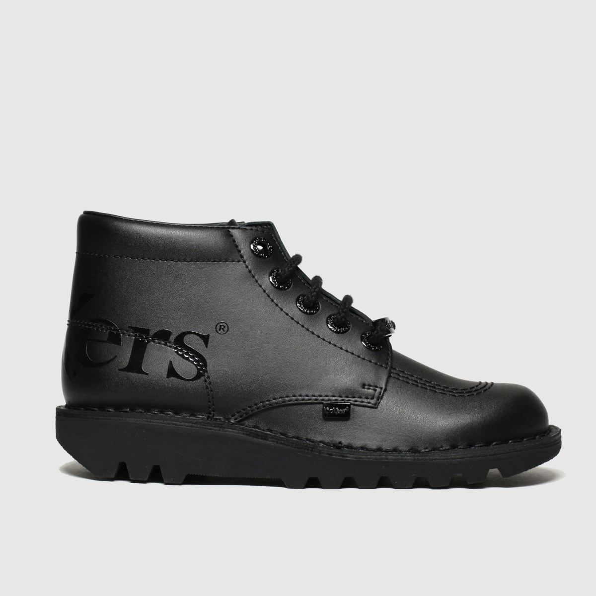 Kickers Black Kick Hi Luxx Boots Youth
