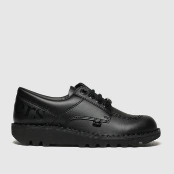 Kickers Black Kick Lo Luxx Unisex Youth
