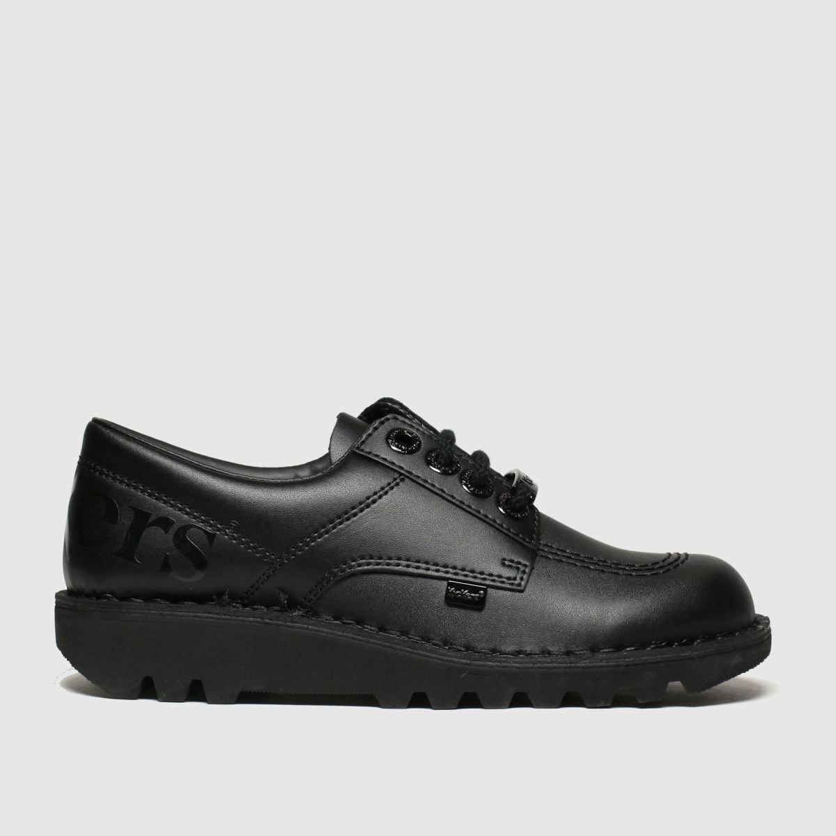 Kickers Black Kick Lo Luxx Shoes Youth