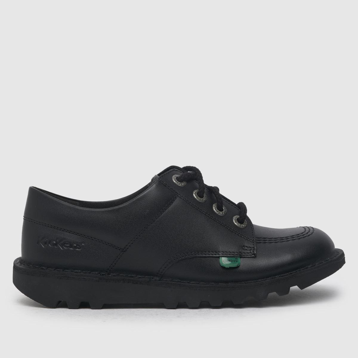 Kickers Black Kick Lo Shoes Youth