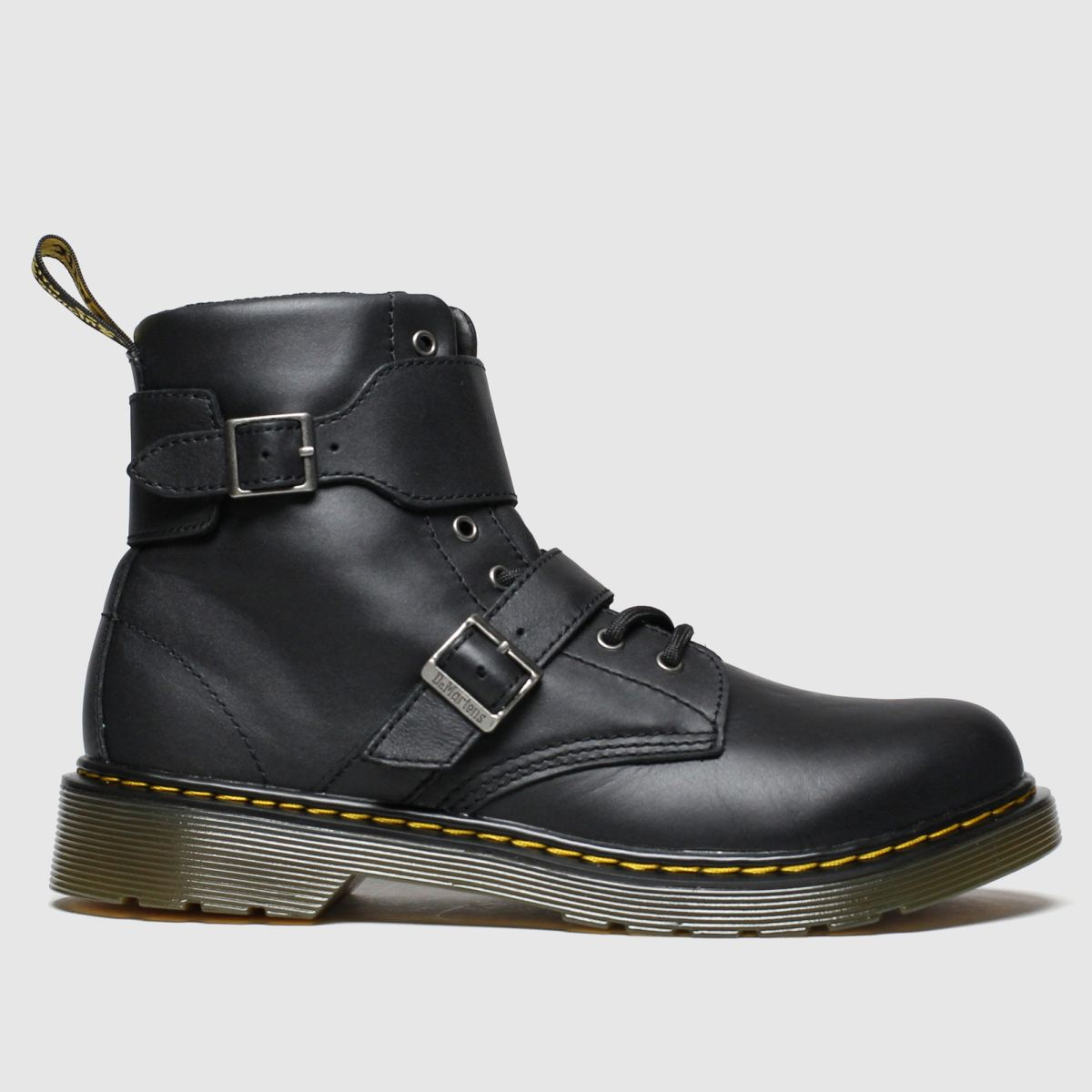 Dr Martens Black Joska Boots Youth