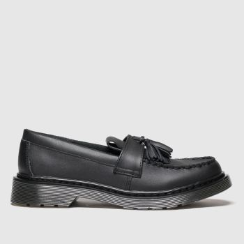 Dr Martens Black Adrian Unisex Youth