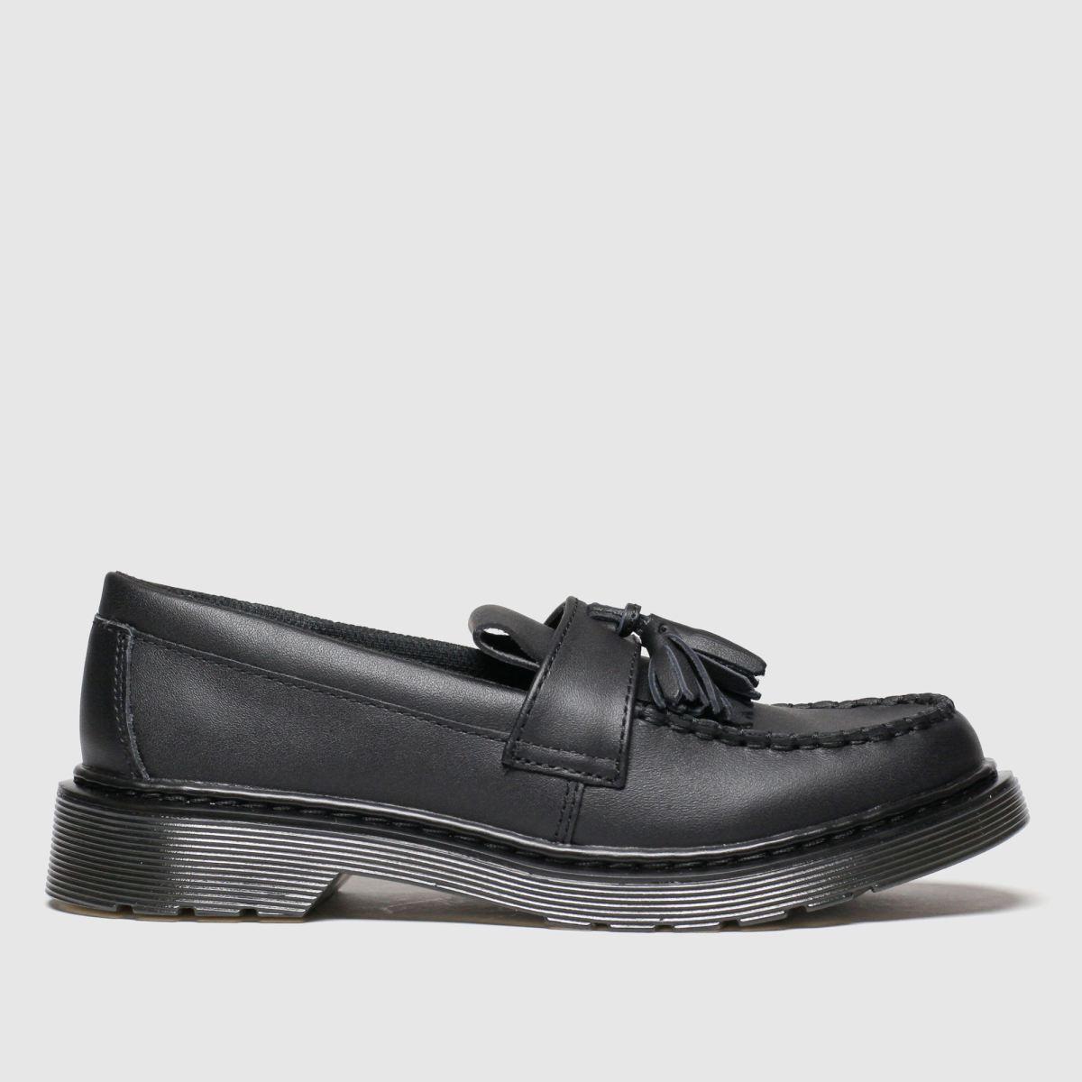 Dr Martens Black Adrian Shoes Youth