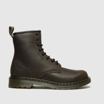 Dr Martens Dark Brown 1460 Serena Unisex Youth