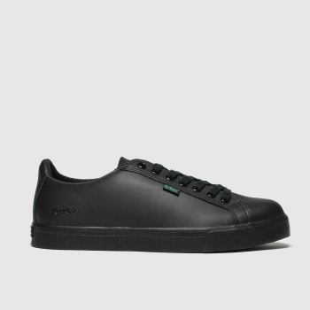Kickers Black Tovni Lacer Unisex Youth#