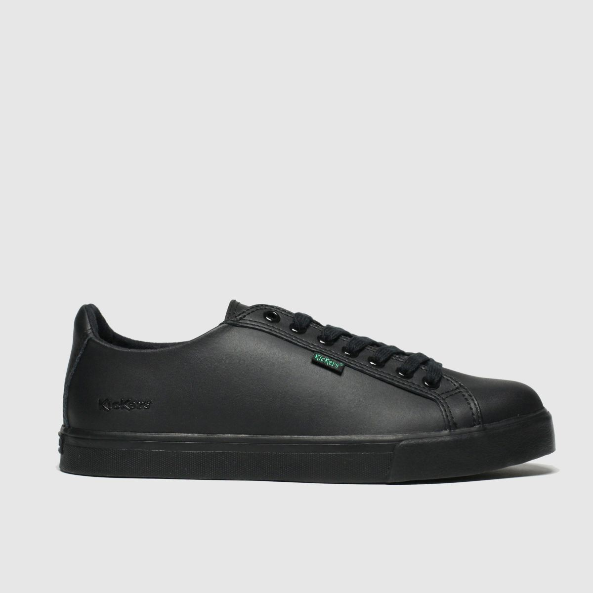 Kickers Black Tovni Lacer Shoes Youth