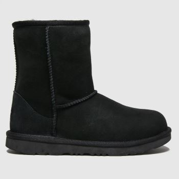 UGG Black Classic Ii Unisex Youth