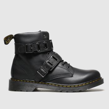 Dr Martens Black 1460 Quynn Unisex Youth from Schuh