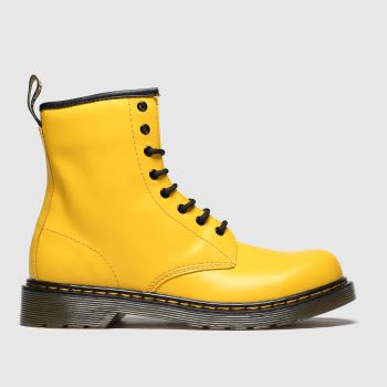 Dr Martens Yellow 1460 Unisex Youth