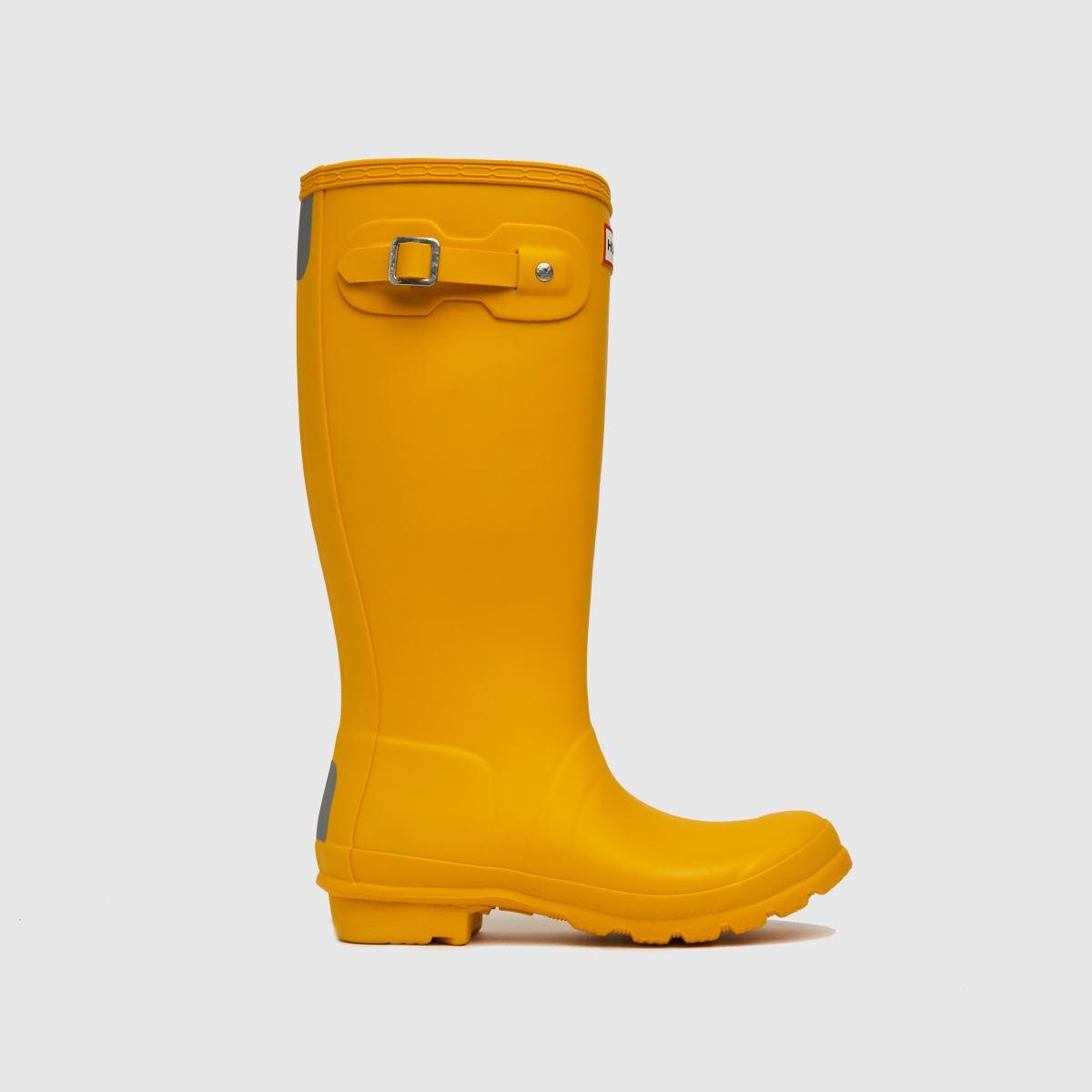 Hunter Yellow Original Boots Youth
