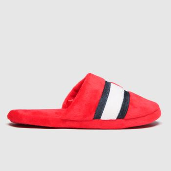 Tommy Hilfiger Red Slipper Unisex Youth