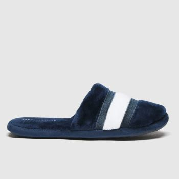 Tommy Hilfiger Navy Slipper Unisex Youth