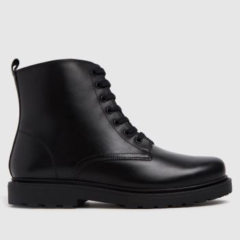 schuh Black Creator Lace Up Unisex Youth