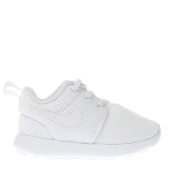 san francisco f5ff9 9b6f1 Kids Unisex white nike roshe one trainers | schuh