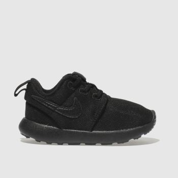 Nike Black Roshe One Unisex Toddler