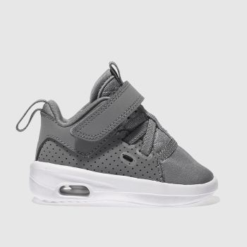 NIKE JORDAN  GREY FIRST CLASS TODDLER TRAINERS