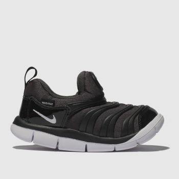 Nike Black & White DYNAMO FREE Unisex Toddler