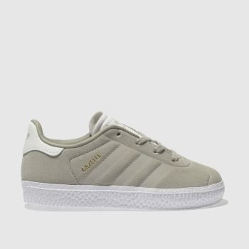ADIDAS STONE GAZELLE TRAINERS TODDLER