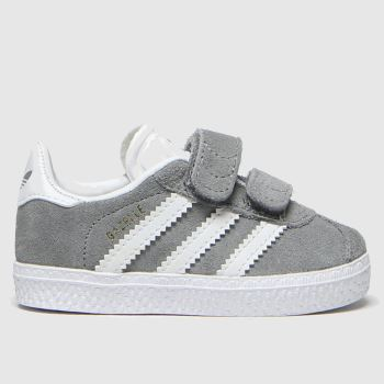 Adidas Grey Gazelle Unisex Toddler#