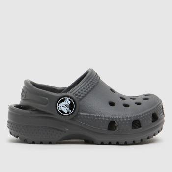 crocs Grey Classic Clog Unisex Toddler