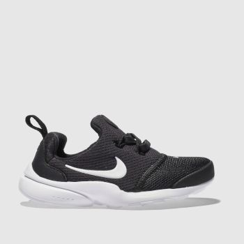 Nike Black & White Presto Fly Unisex Toddler