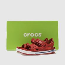 7ee8a878d795d7 Kids Unisex red crocs crocband ii sandal trainers