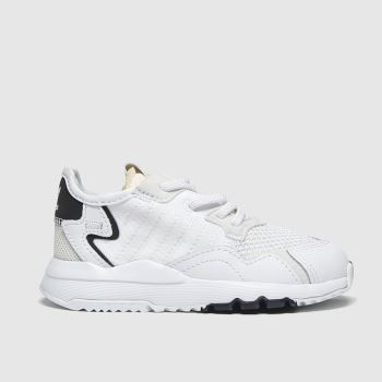 Adidas White Nite Jogger c2namevalue::Unisex Toddler
