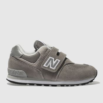 New Balance Grey 574 Unisex Toddler