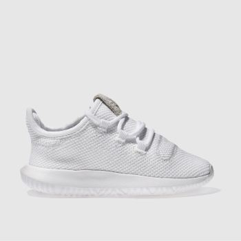 Adidas White Tubular Shadow Unisex Toddler