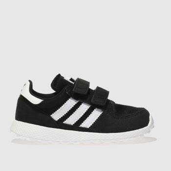Adidas Black & White Forest Grove Unisex Toddler
