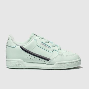 Adidas Light Green CONTINENTAL 80 Unisex Toddler