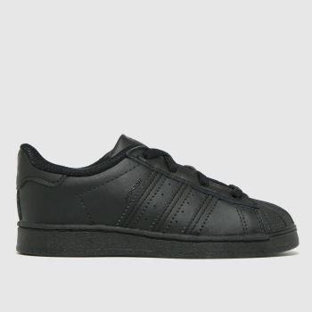 adidas Black Superstar El Unisex Toddler