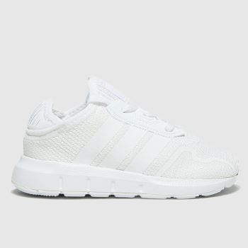 adidas White Swift Run X Unisex Toddler