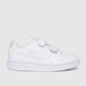 adidas White & Silver Ny 90 2v Unisex Toddler