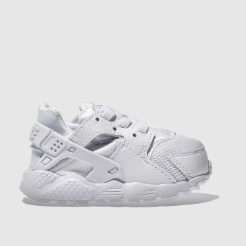 Nike White Huarache Run Unisex Toddler